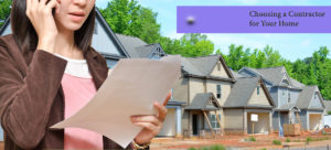 Choosing a Contractor for Your Home