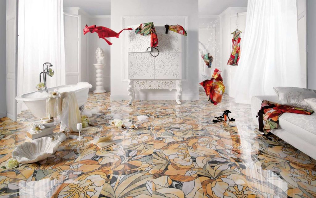 Bathroom Decor - 3 Top Bathroom Flooring Options at a Glance