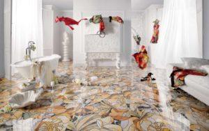 Bathroom Decor - 3 Top Bathroom Flooring Options at a Glance