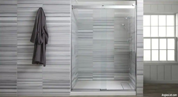 Frameless Shower Door: The Price Is Right!