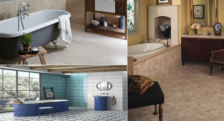 Bathroom Floor Tiles - Choosing Your New Bathroom Floor