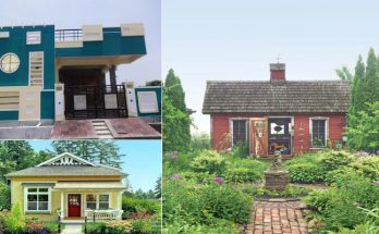Designing the Front Design of a Small House Village